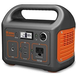 Jackery Portable Power Station Explorer 240  If you're in the market for a power solution that works well inside or outside, the Jackery Portable Power Station Explorer 240 should be the first portable generator that you should take a look at. An astonishing 89 percent of buyers gave this generator a five-star review, and they say it's a solid power source for travel or emergencies