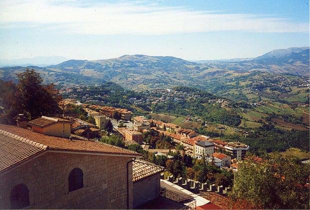 Blick Von San Marino