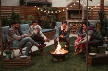 The Best Fire Pits & Patio Heaters for Socially Distanced Outdoor Hangs This Winter