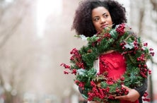 Spruce Up Your Home for the Holidays With These Festive Door Wreaths