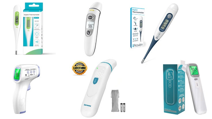 Thermometers Options