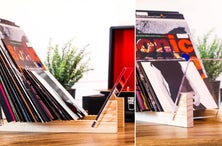 Keep Your Favorite Vinyl in Order With KAIU's Stylish Display Rack