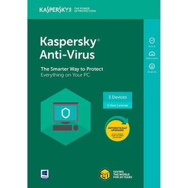 Kaspersky Anti-Virus 2018 Review
