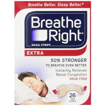 Breathe Right Nasal Strip Review