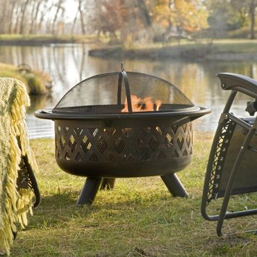 Red Ember Bronze Crossweave Firebowl Fire Pit Review