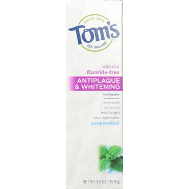 Tom's of Maine Fluoride-Free Toothpaste