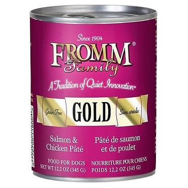 Fromm Family Gold Salmon and Chicken Pate Review