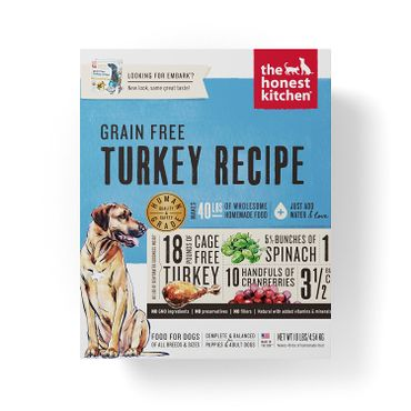 The Honest Kitchen Dehydrated Grain Free Turkey Recipe