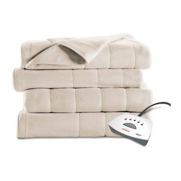 Sunbeam Electric Heated Fleece Blanket
