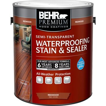 Behr Premium Waterproofing Wood Stain & Sealer Review