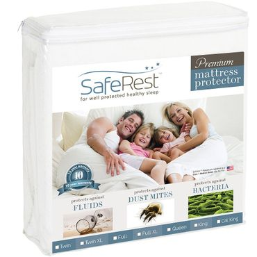 SafeRest Waterproof Mattress Protector