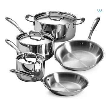 Tramontina 8-piece Stainless Steel Cookware Set Review
